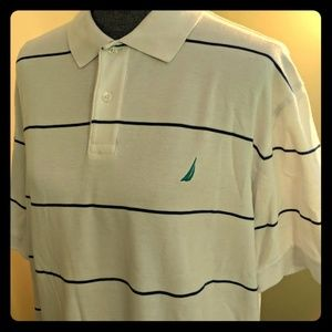 White Nautica Polo